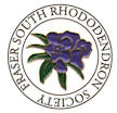 Fraser South Rhododendron Society logo